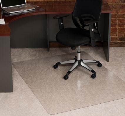 Office chair mat for carpet - Ladyga Maty Ochronne Pod Krzes A Obrotowe